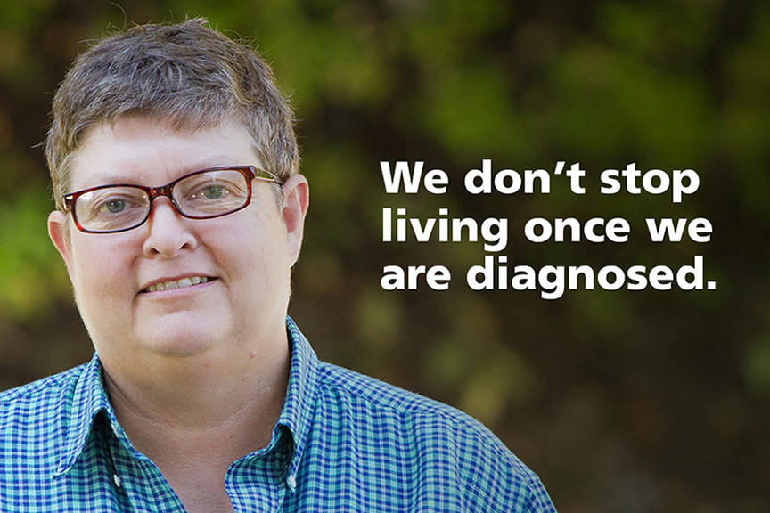Across the country, thousands of Canadians are standing up to say, 'Yes. I live with dementia. Let me help you understand.'