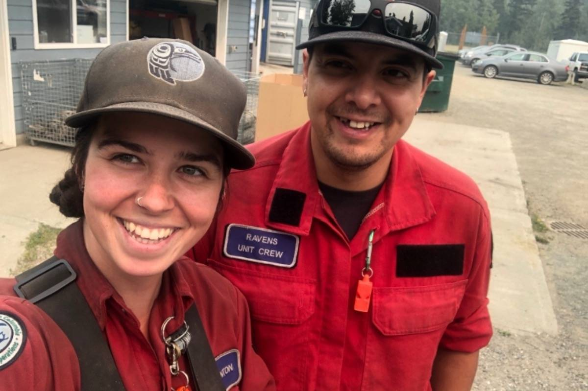 Pregnant B.C. firefighter tries to save own house that caught fire