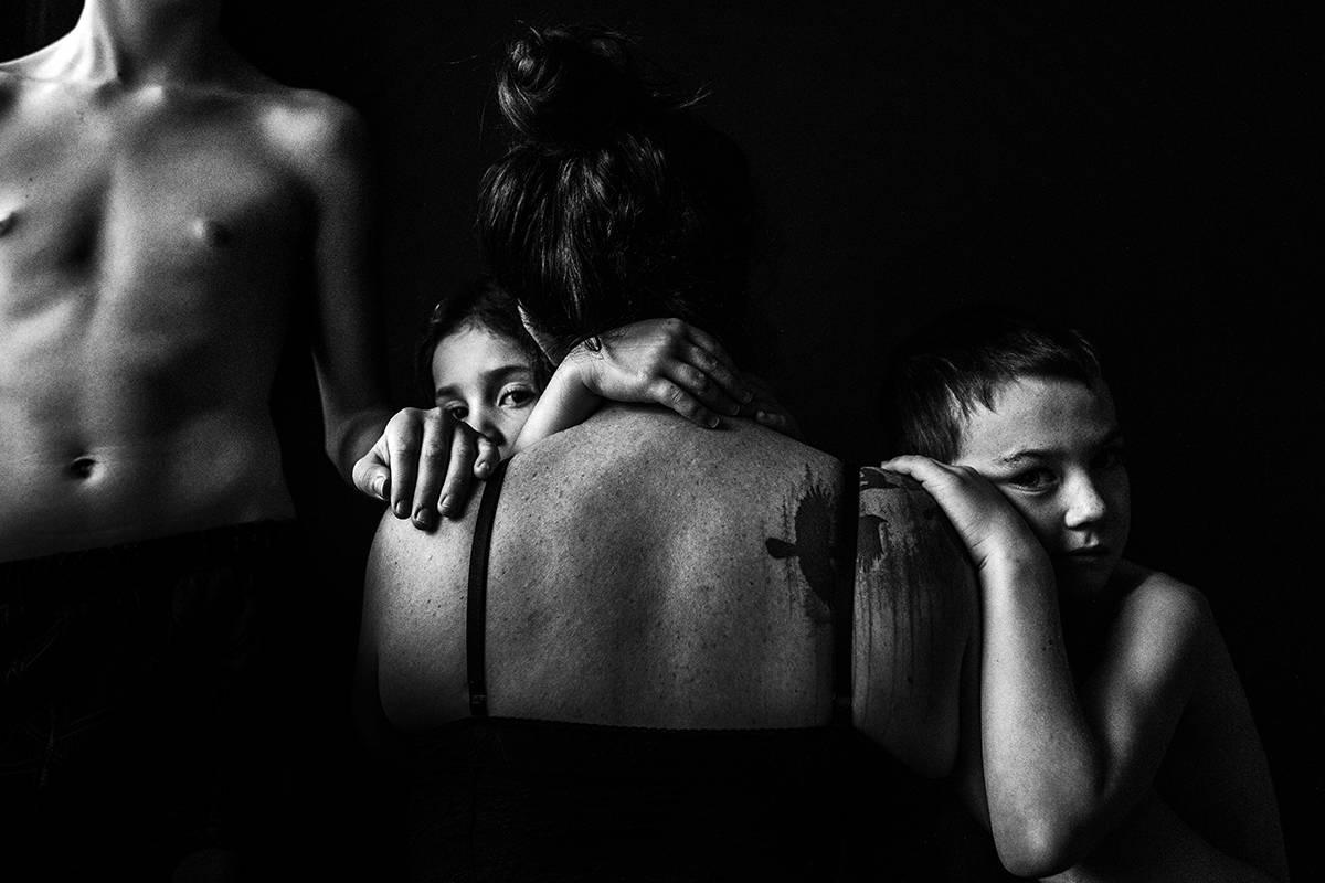 """Ashley Marston's """"family portrait."""" (Photo by Ashley Marston)"""