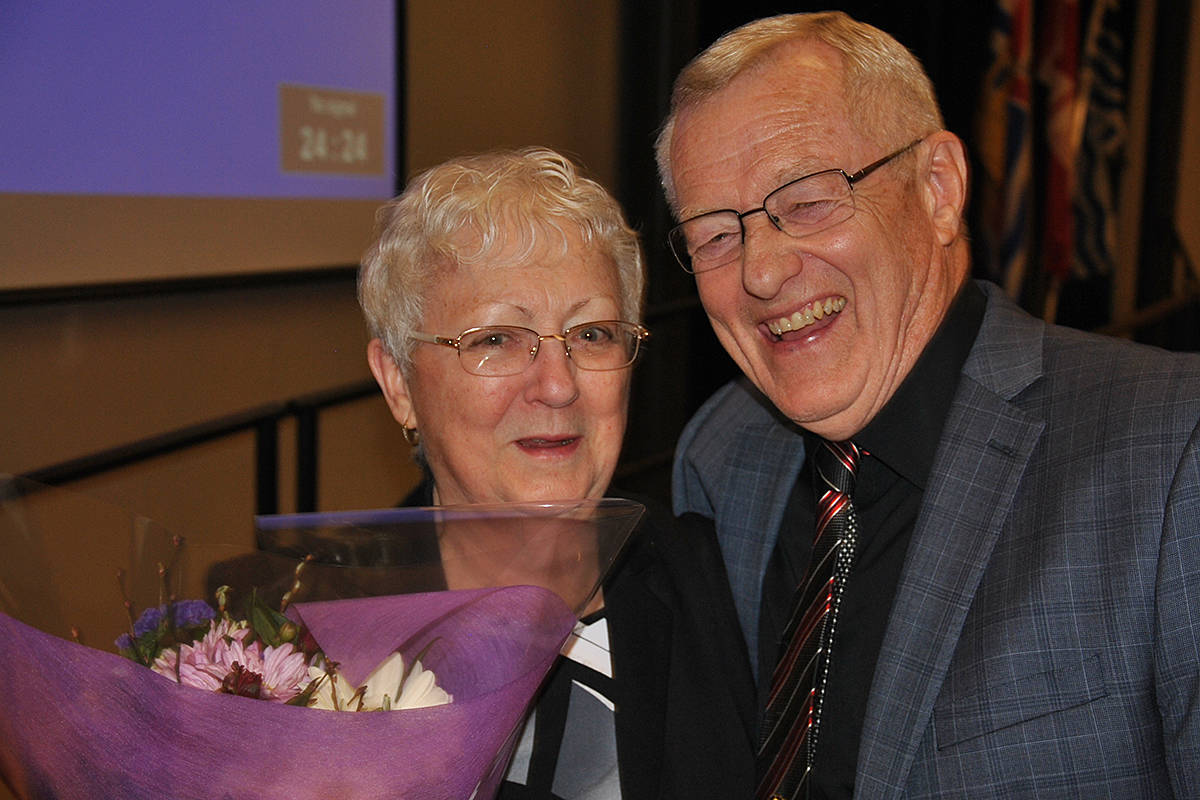 Sylvia Anderson was last year's winner of the Flowerdew volunteer award for the Township of Langley. (Black Press files)