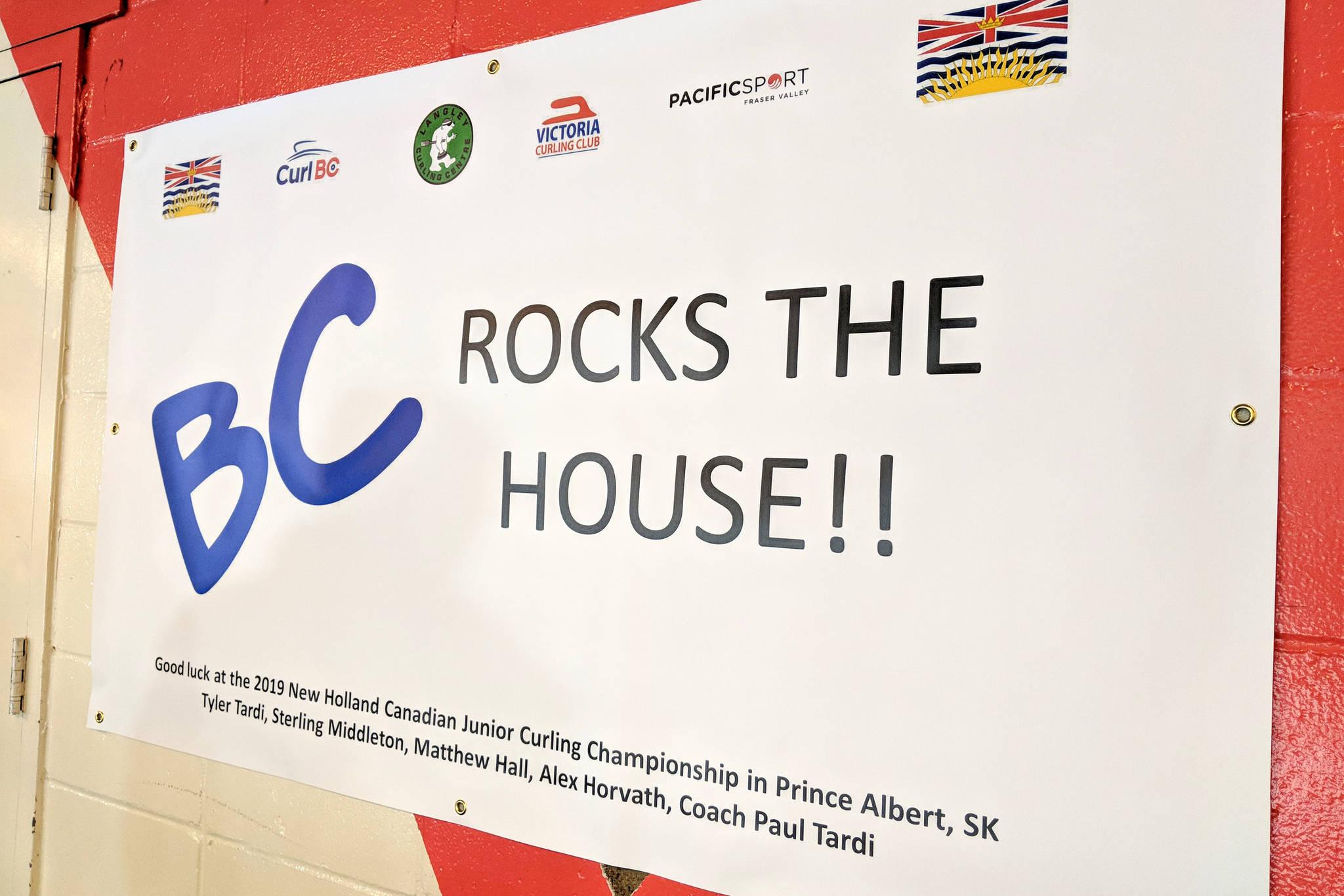 Team BC defeats its hosts at junior curling nationals Sunday