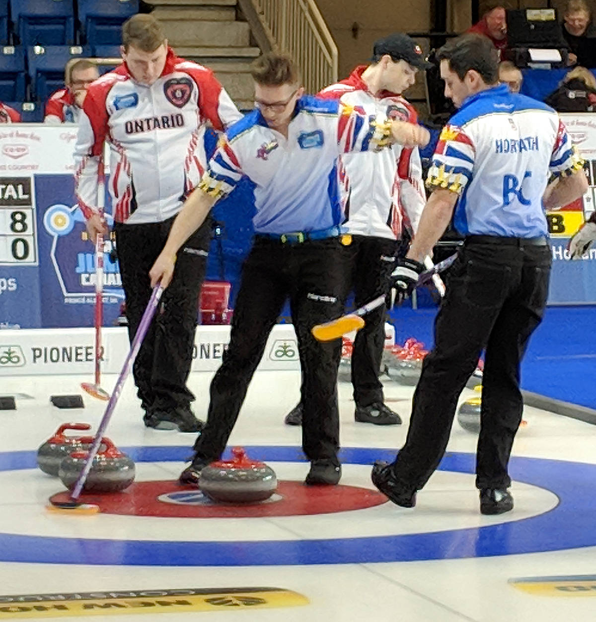 Team BC advancing undefeated in junior nationals