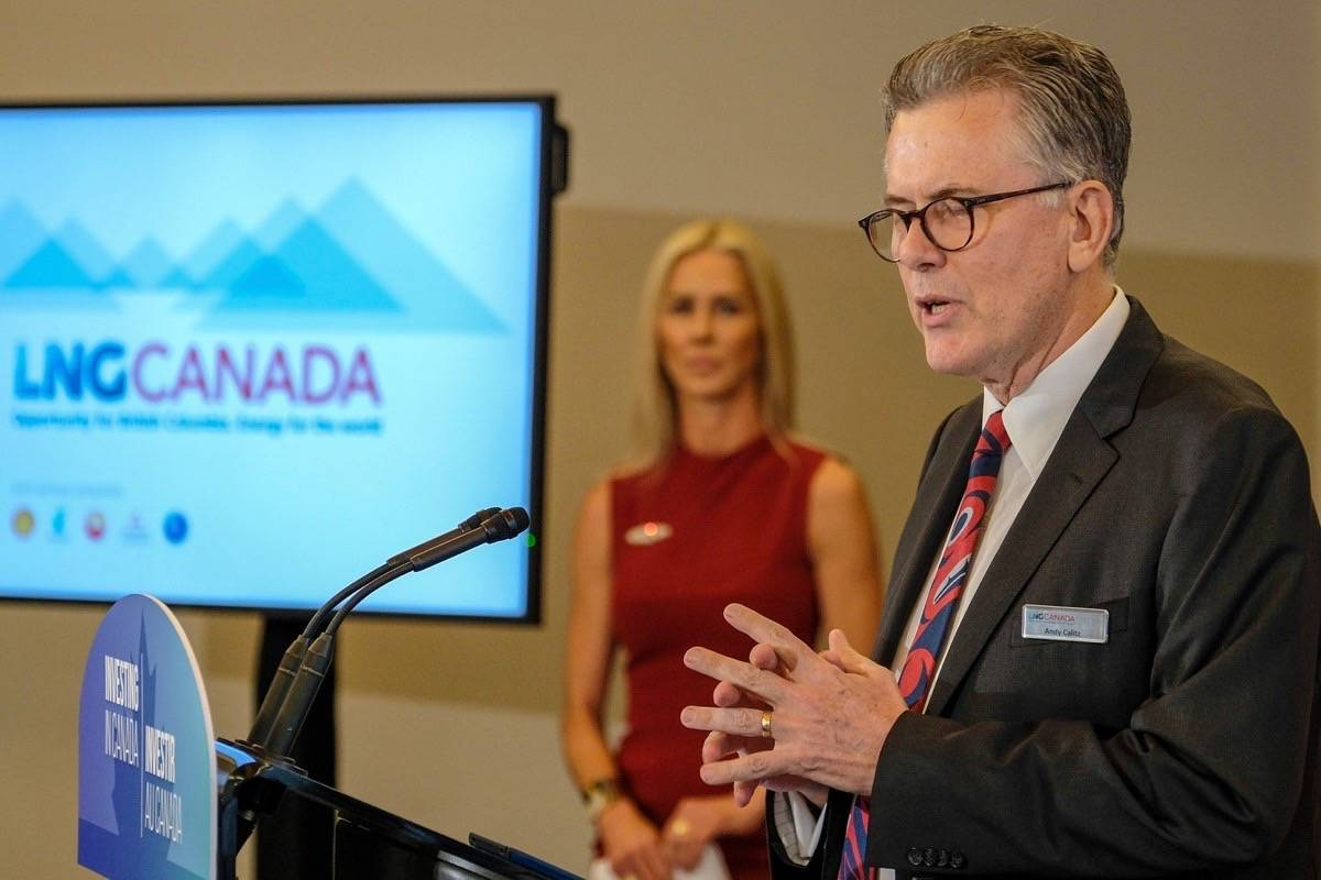 Andy Calitz, CEO of LNG Canada (Black Press files)