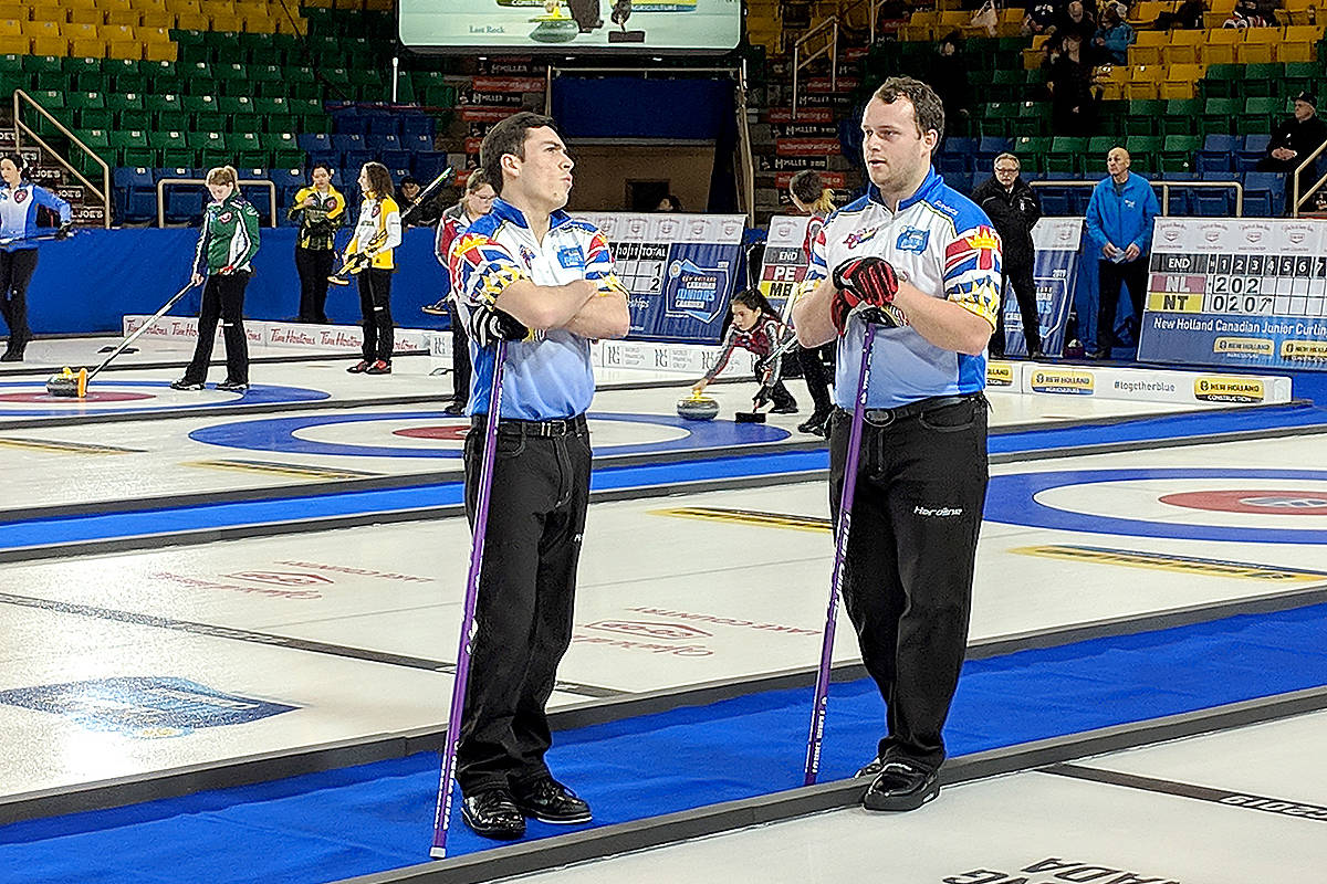 Newcomers to Team Tardi (a.k.a. Team BC) are Alex Horvath and Matthew Hall. (Anita Tardi/Special to Black Press)