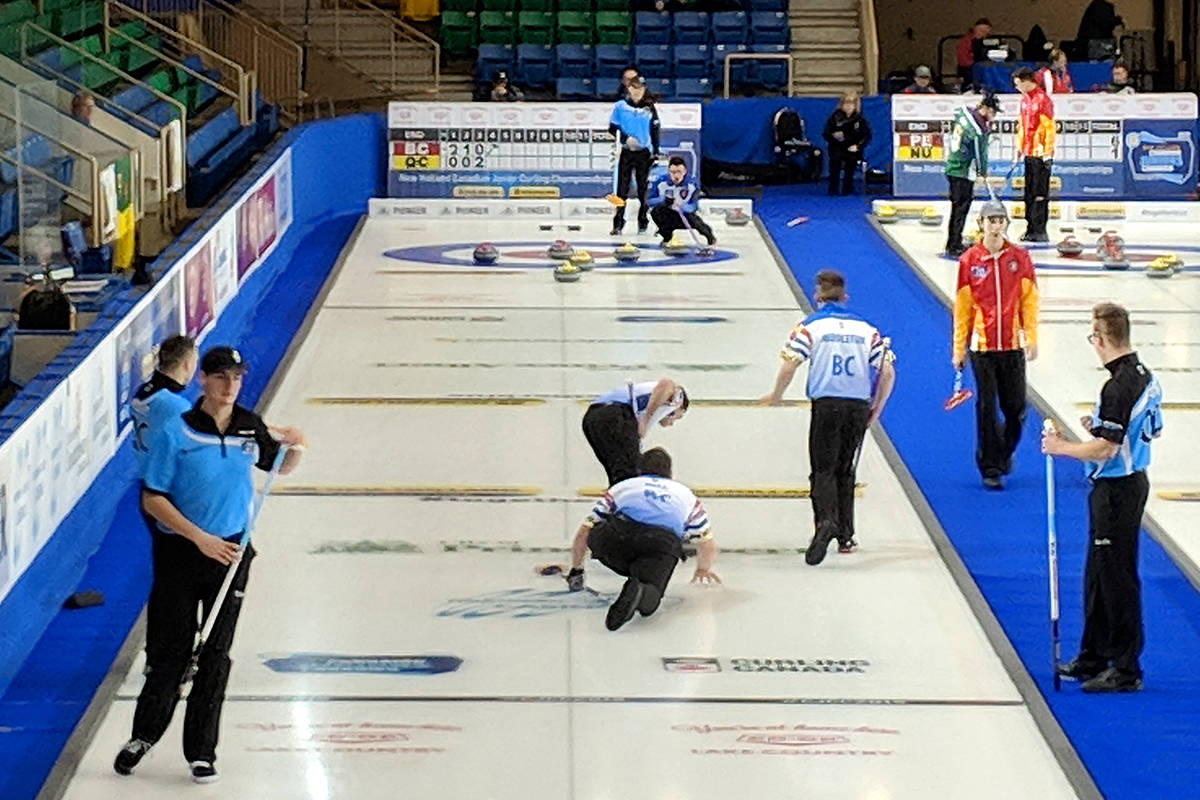 Lower Mainland junior curlers will be vying for gold