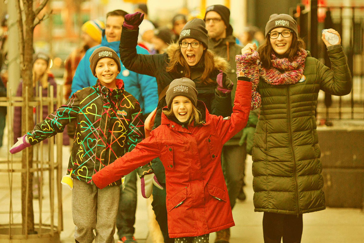 Langley's Coldest Night of the Year Walk set for Feb. 23