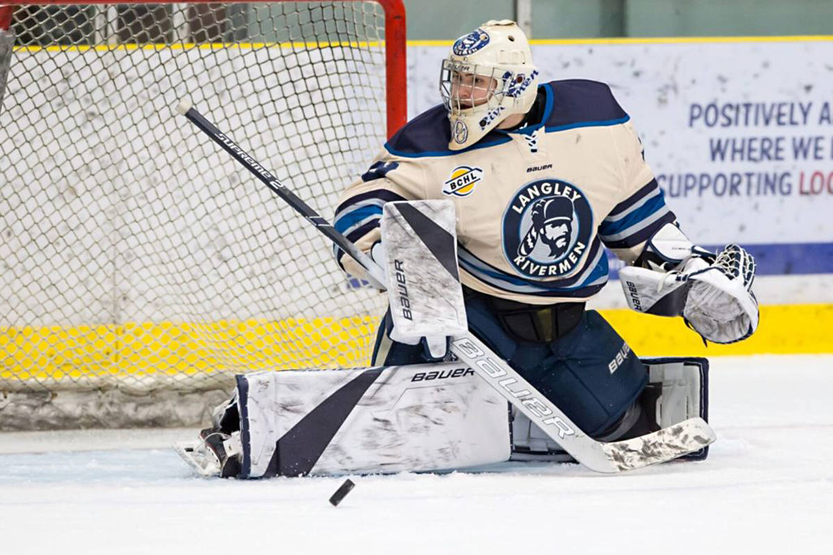 Braedon Fleming stopped 25 of 26 shots on Tuesday night.