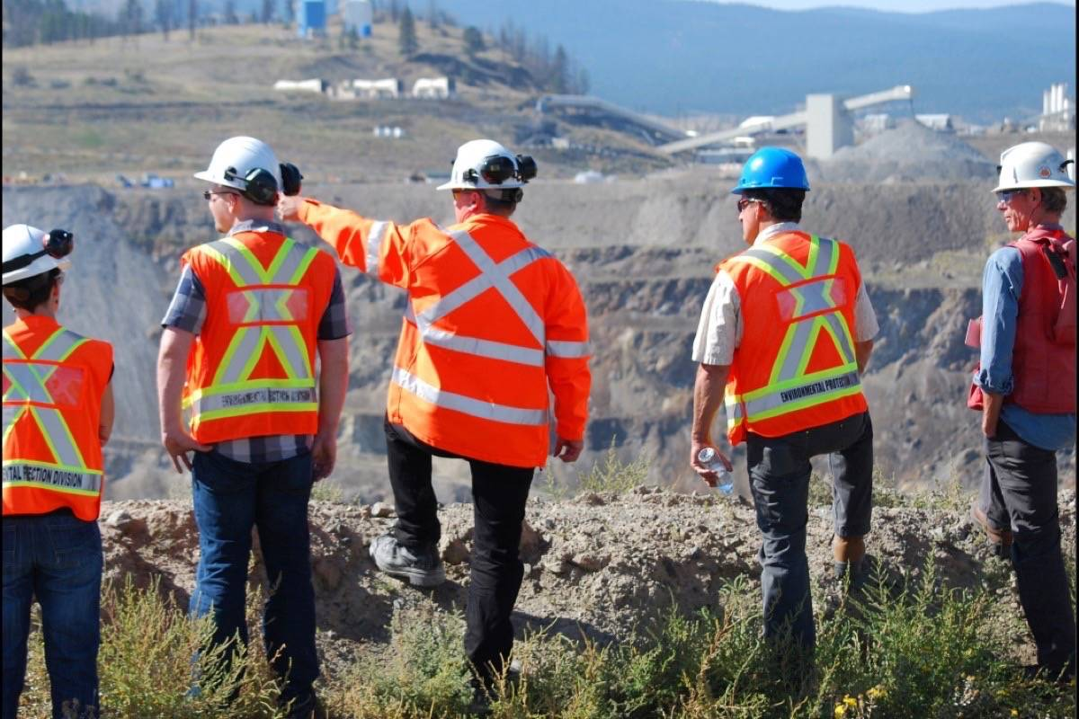 B.C. government mine inspectors at work. Major changes to industry regulation are in the works. (Black Press files)