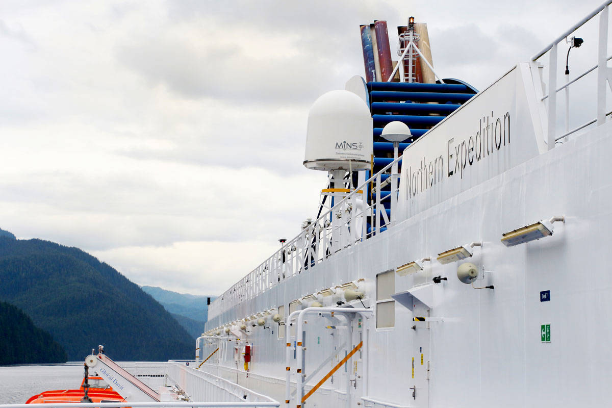 BC Ferries' Northern Expedition. (Shannon Lough / The Northern View)