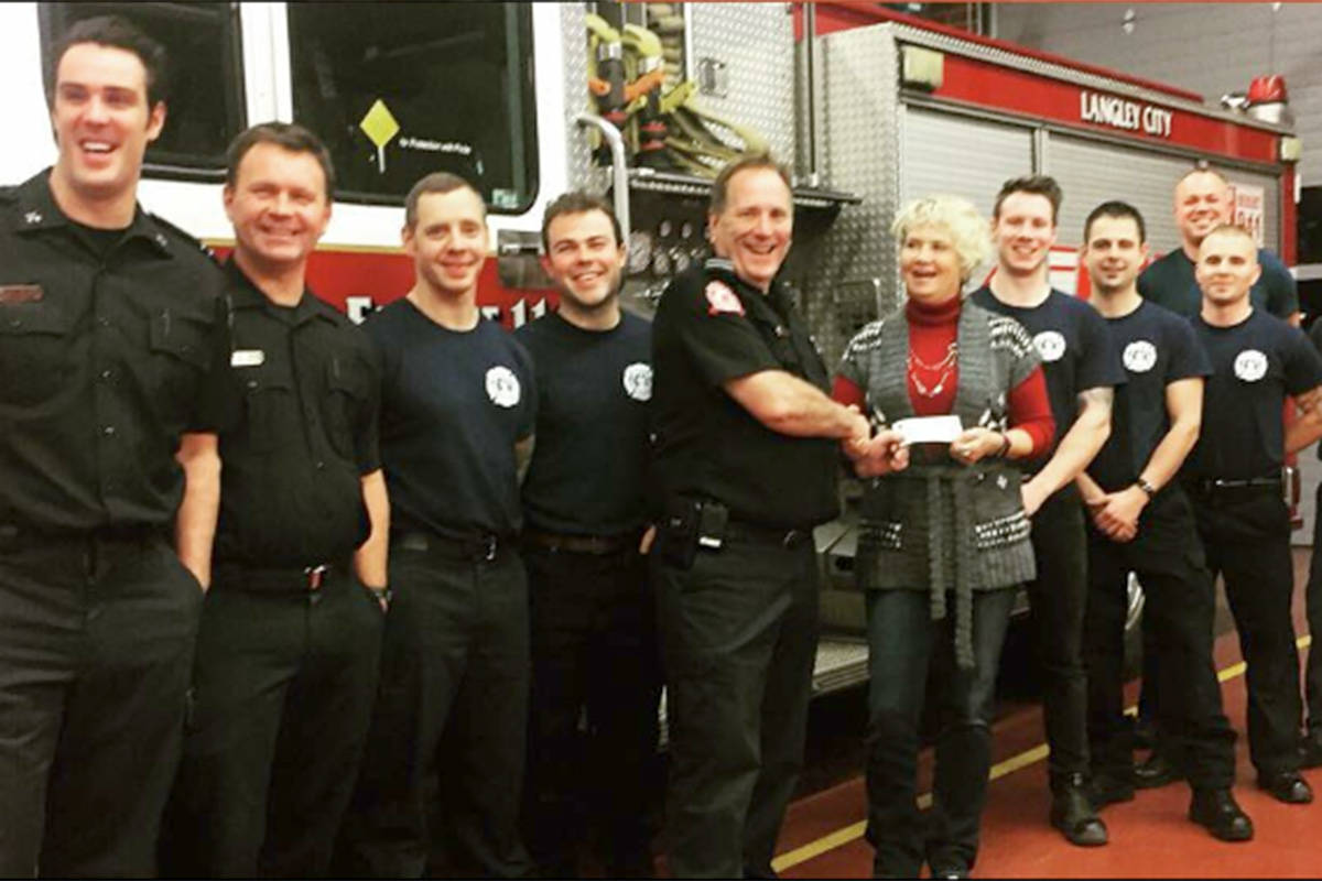 Langley firefighters keep the spirit of giving alive in 2018