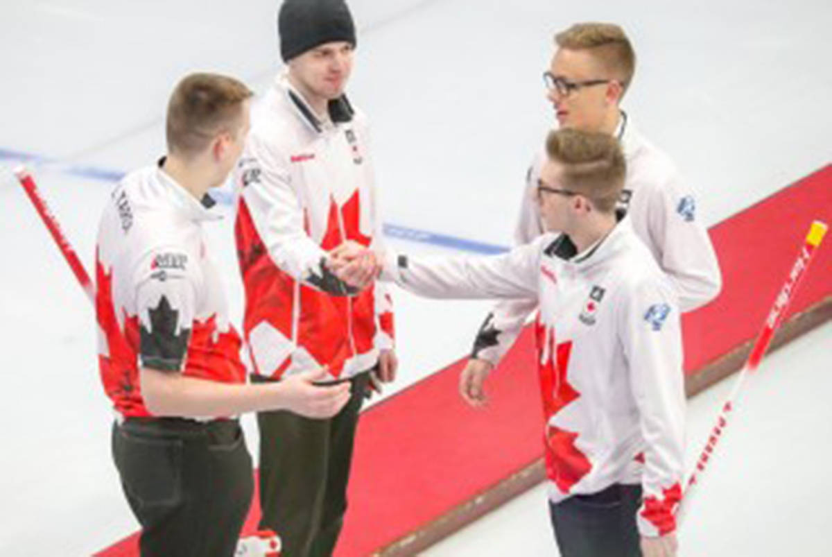 Team Tardi did it again, winning two more games at the world juniors in Scotland today, and advancing to the semi-finals tomorrow against the U.S. (Richard Gray/World Curling Federation)