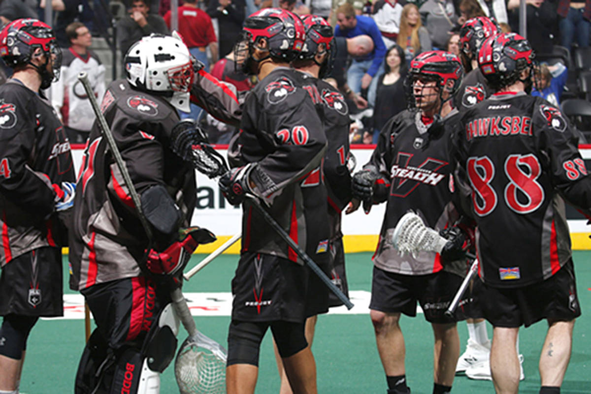 Stealth defeated the Mammoths in Colorado Saturday night, 31-12. (Jack Dempsey photo)