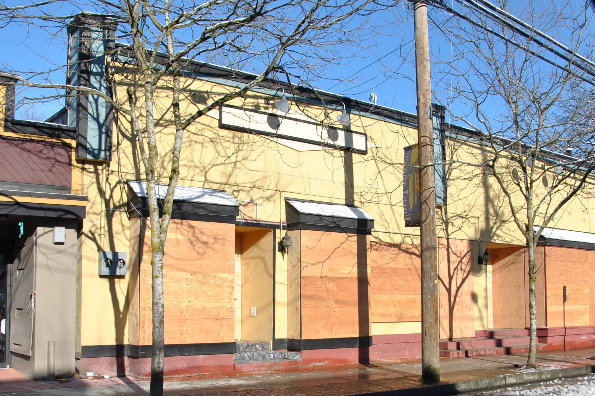 Council, landowner still not talking over vacant Fort Langley buildings