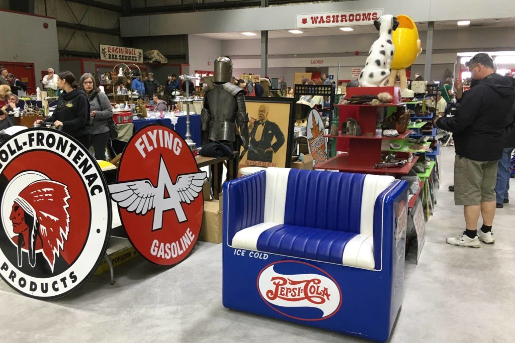 Roughly 150 booths were on display at the Cloverdale Agriplex during the Easter long weekend (photo by Kieran O'Connor/Black Press)