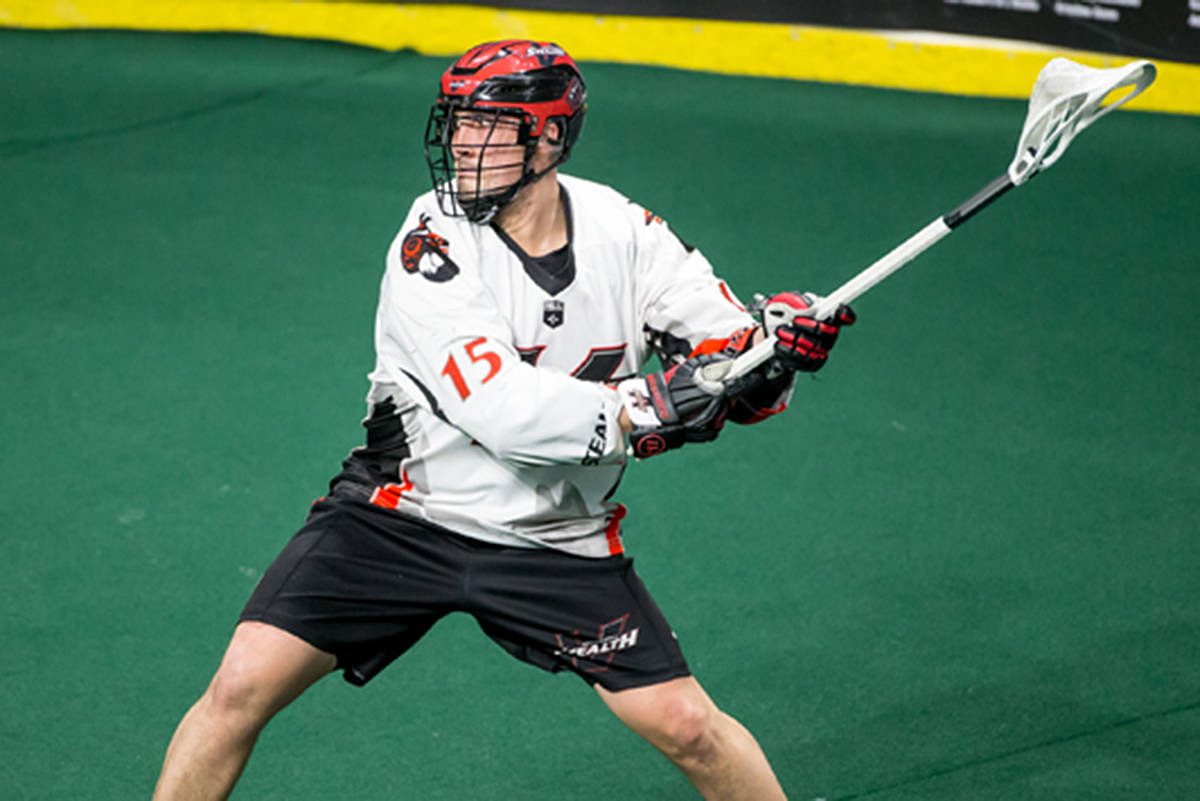 Vancouver Stealth's Corey Small. (Garrett James Photography)