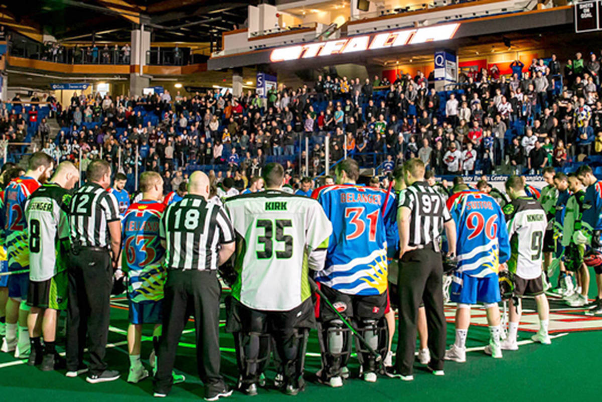 Langley lacrosse players and fans unite for Humboldt
