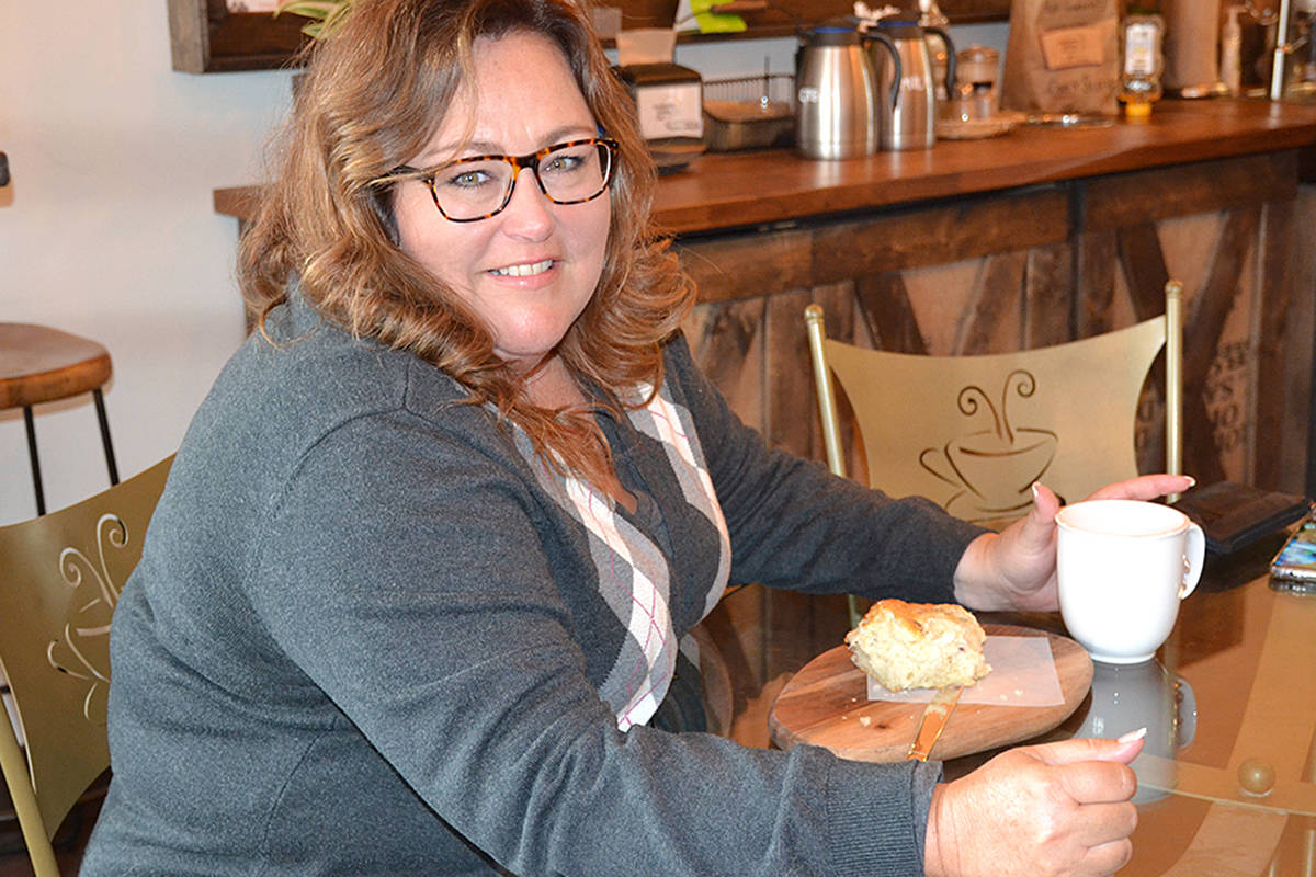 Angie Quaale has found time between running her gourmet food shop and serving as a Township councillor, to pen a book about food – complete with recipes. (Ronda Payne/Langley Advance)
