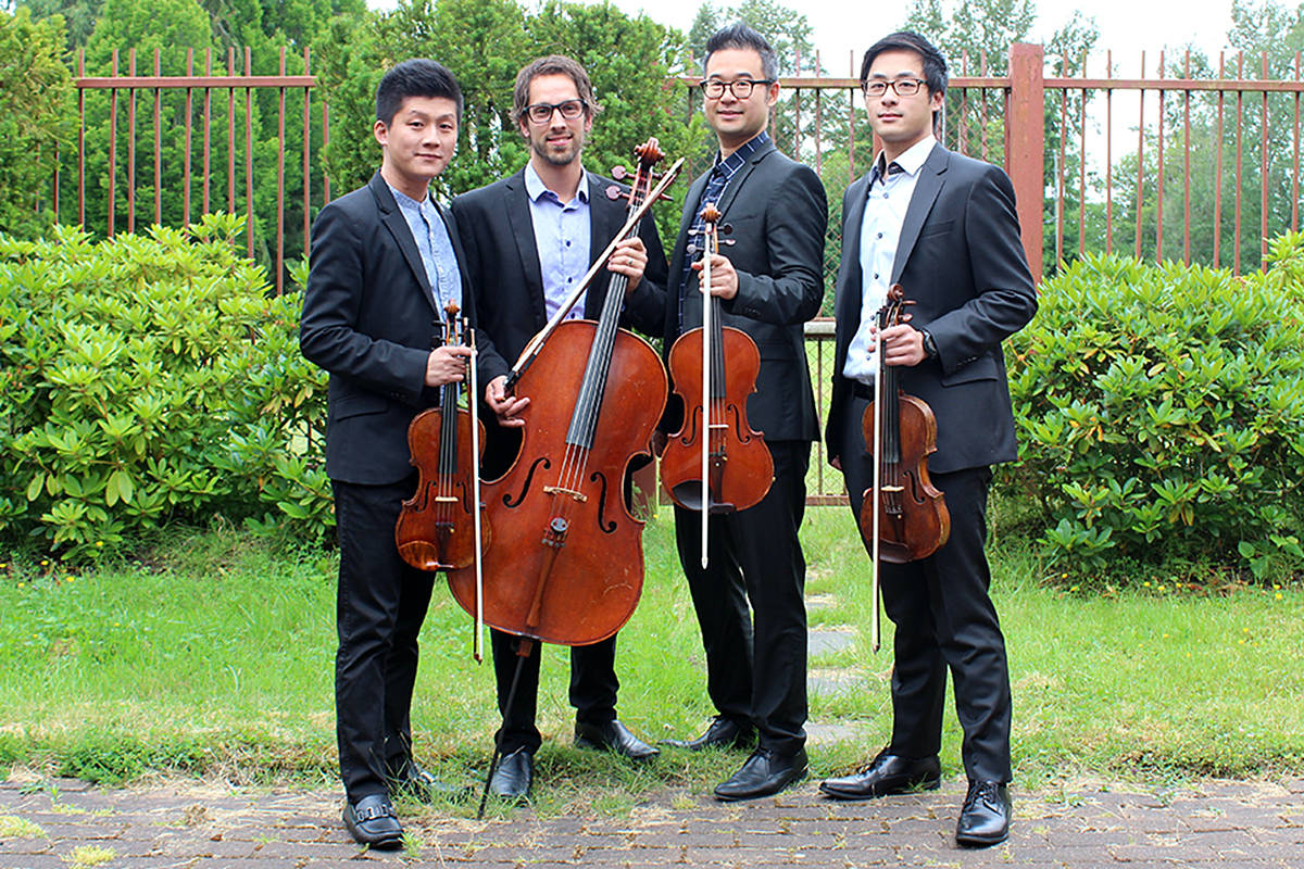 VIDEO: Langley music school's quartet wraps up season with