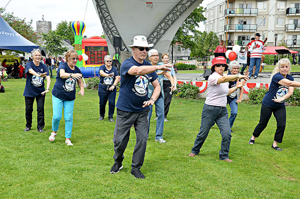 Family-fun fills Langley City park for Community Day