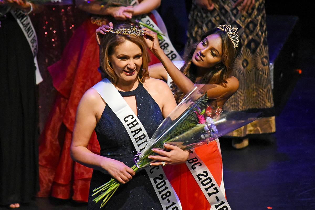 Cheryl Schindler was crowned Mrs. BC Charity. Miranda Gathercole Black Press
