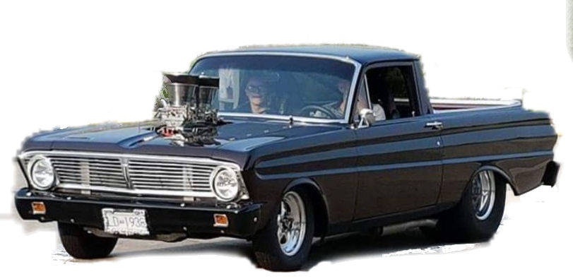 Godfrey Hamon's 1964 Ranchero will be on exhibit at the event, a fundraiser to support local families fighting cancer.