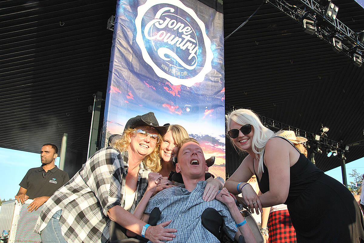 UPDATE: Langley twin's cancer fundraising concert surpasses mark