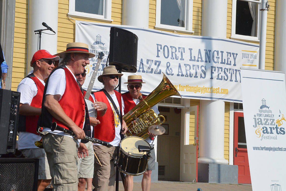 Letter: Fort Langley's new jazz festival was hot in more ways than one