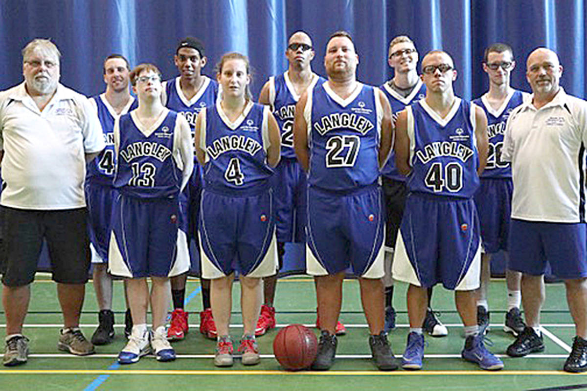 Special Olympics BC – Langley sent a number of athletes to the Canada Summer Games in Nova Scotia, including the entire BC Warriors basketball team. (Special Olympics British Columbia photo)