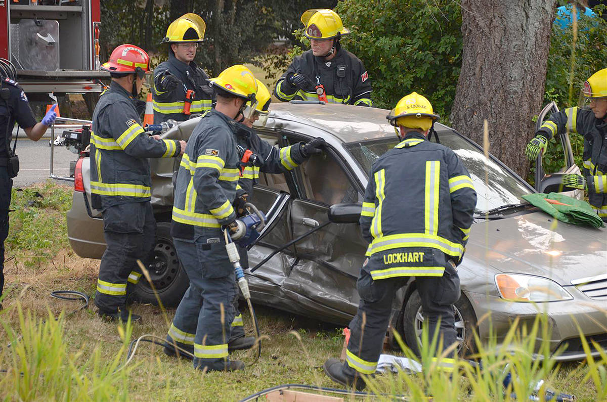 VIDEO: Child airlifted to hospital after crash in rural Langley