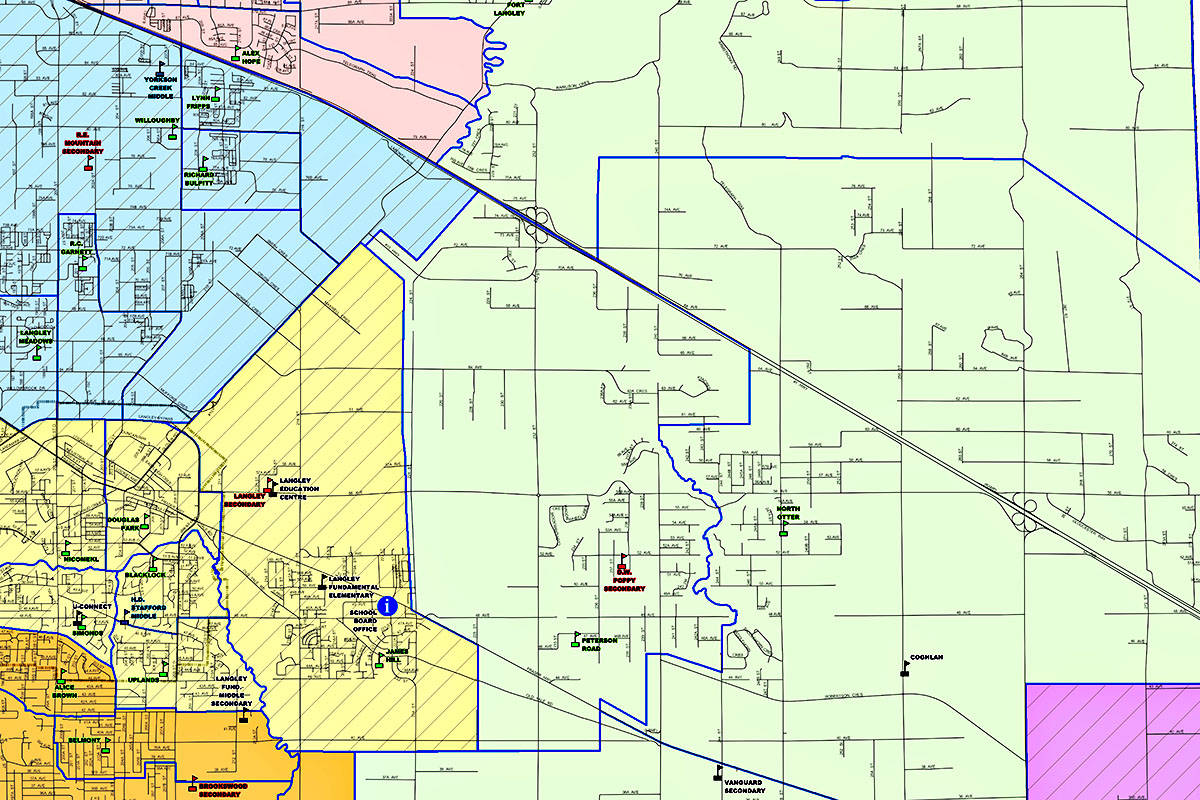 Students head back to class in early September, and the school they attend is typically based on where they live. (SD35 map)