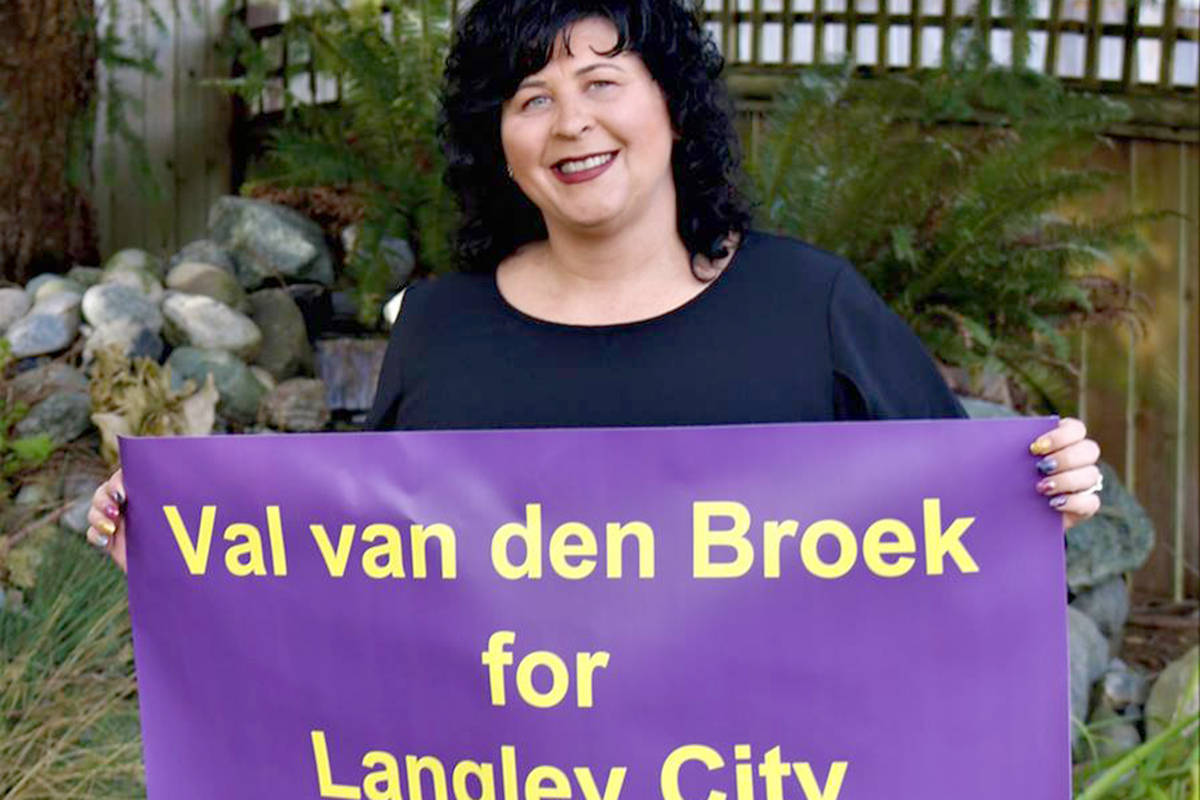 Langley City: Val van den Broek speaks on health, homelessness