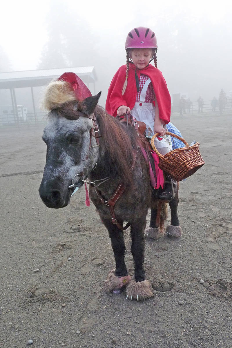 Celebrating Halloween in the horse capital of B.C.
