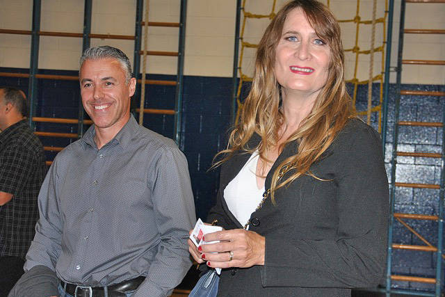 Tony Ward and Sindy Jeffrey ran in the municipal elections. (Roxanne Hooper/Black Press)