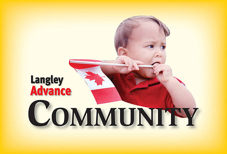Langley Advance What's On: Nov. 1, 2018 edition