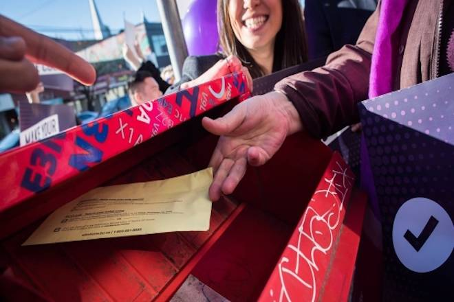 About one million electoral reform ballots have been counted in B.C.'s referendum. (THE CANADIAN PRESS/Darryl Dyck)