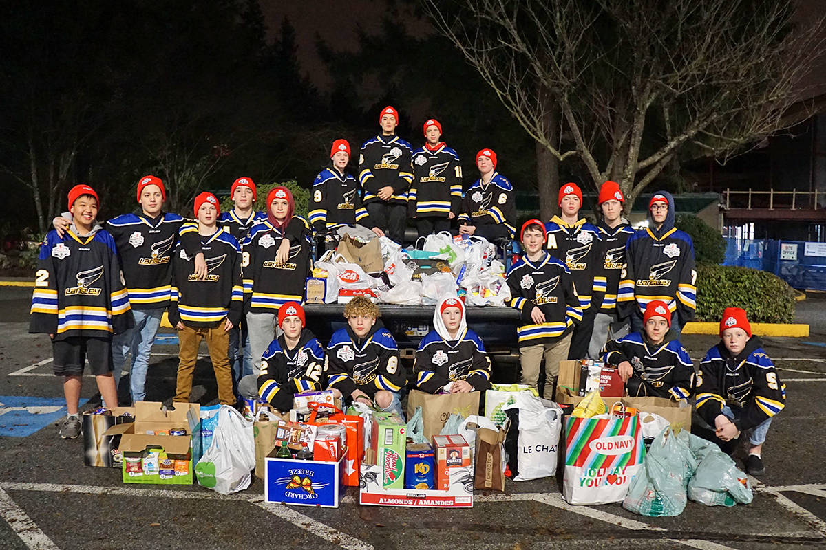 Teaming up to help the food bank