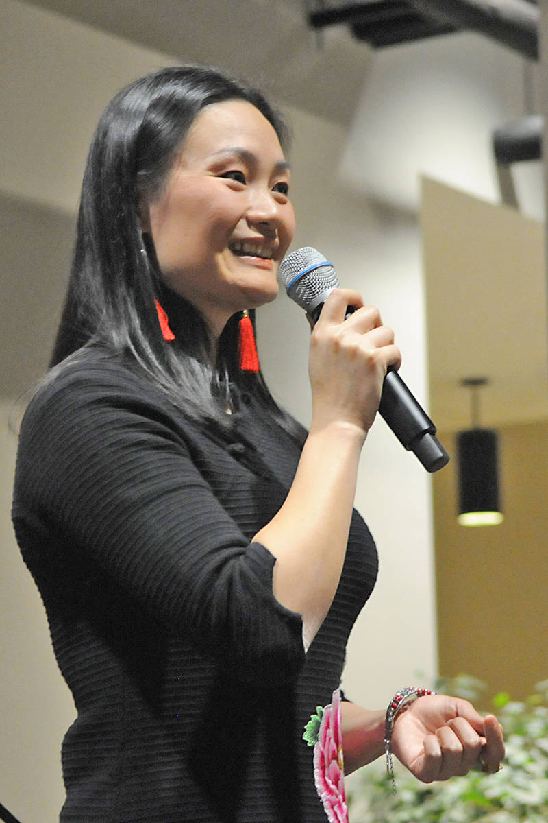 Langley singer Wen Wu was a crowd favourite. Black Press Media photo