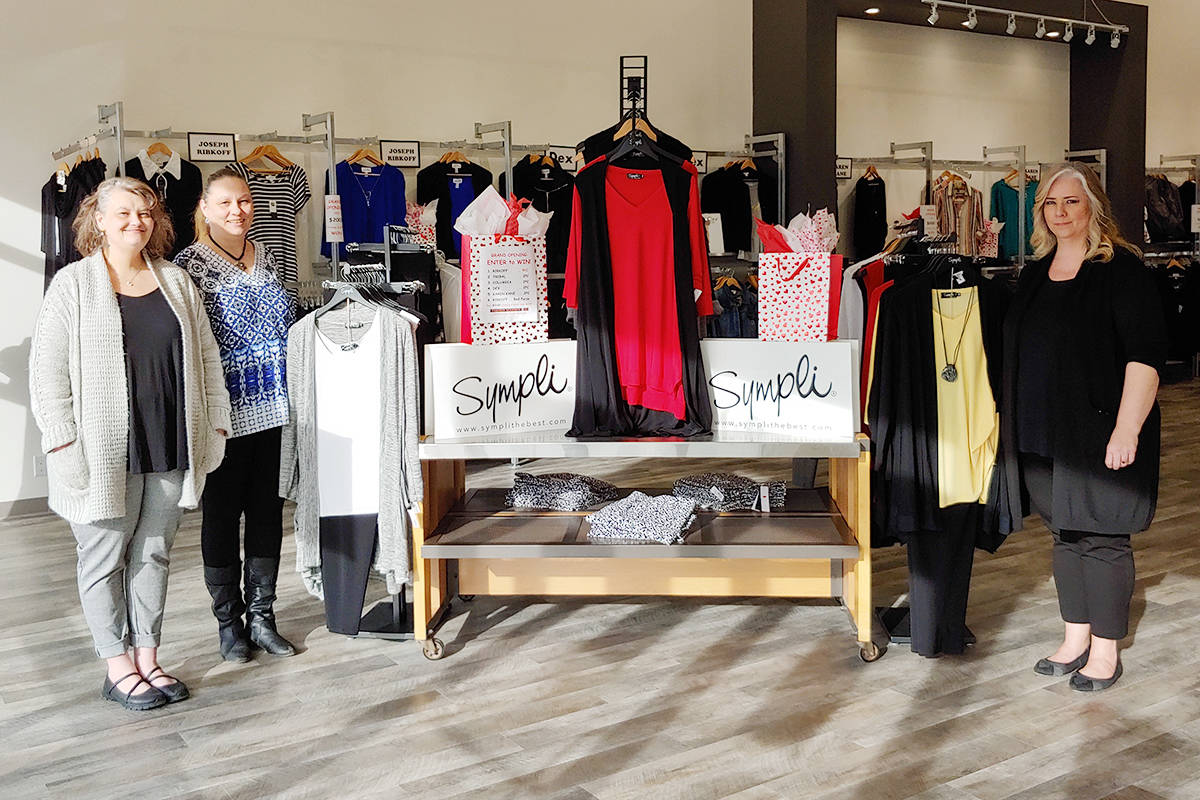 Stop by the new Langley City Square location of Fashion Addition 14+ Feb. 23 for the store's grand opening and a chance to win more than $2,000 in designer brand clothing!