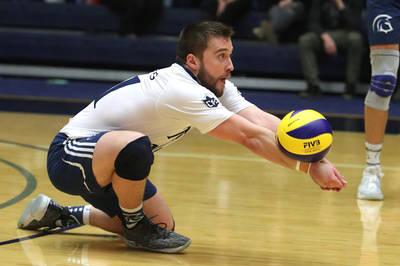 VIDEO: Trinity Western volleyball team ends regular season on a winning note
