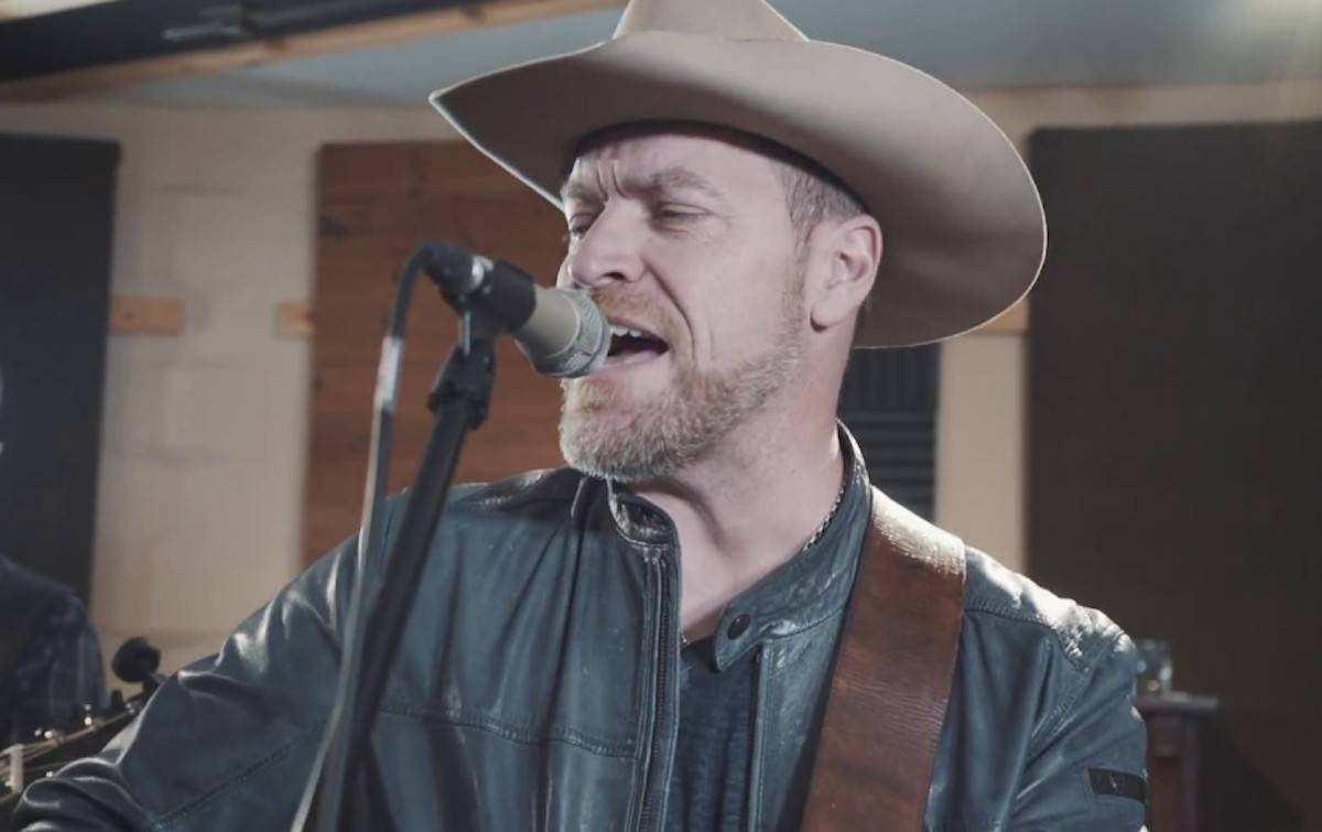 George Canyon in a music video posted to Youtube.com.