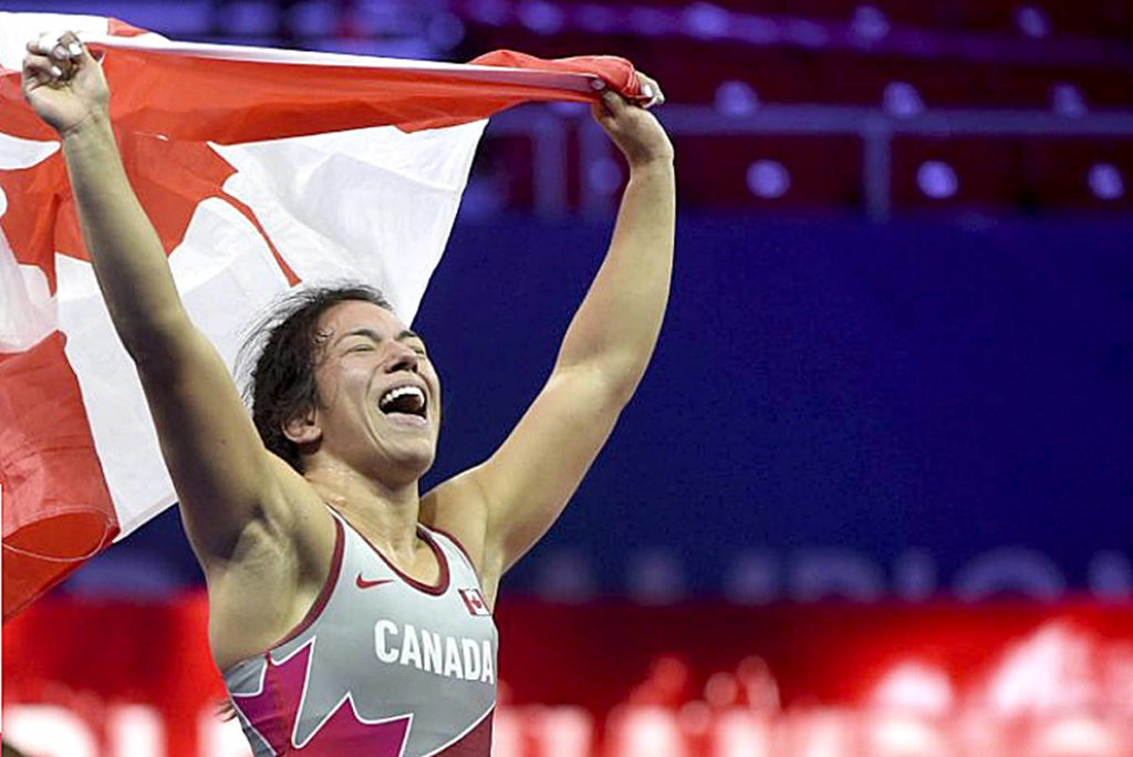 Justina Di Stasio, 26, is now working towards qualifying for the Olympics. (Team Canada photo/Special to Black Press)