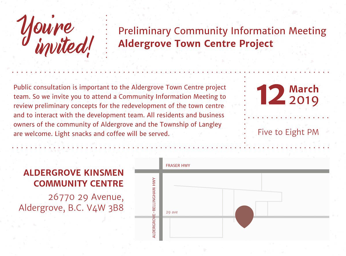 Developers to unveil plan to transform Aldergrove mall into new town centre