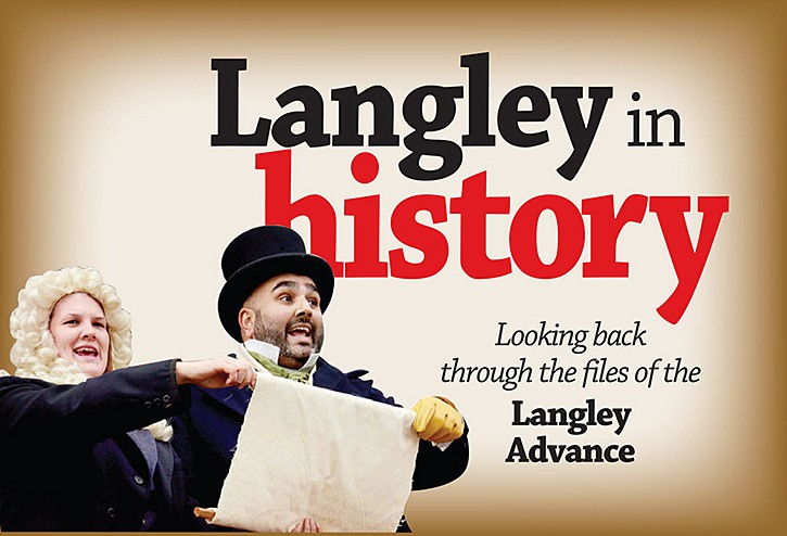 Looking Back: Langley's history from the week of May 19
