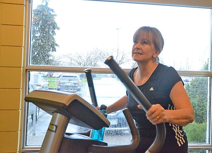 Eirian McConnell is taking part in the Fitness 150 challenge Langley Township is running.