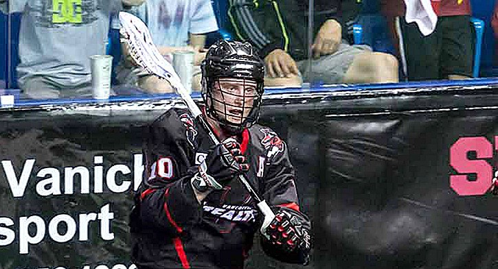 Vancouver Stealth assistant captain and forward