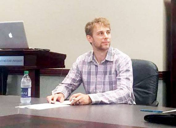 Wayne Kwiatkowski recently defended his master's thesis about boys in the education system.