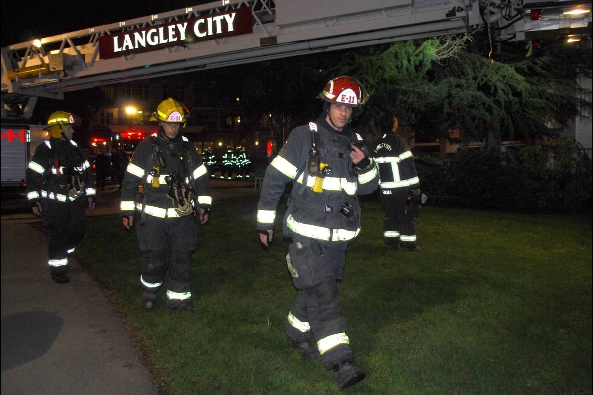 One feared dead in Langley City seniors apartment fire