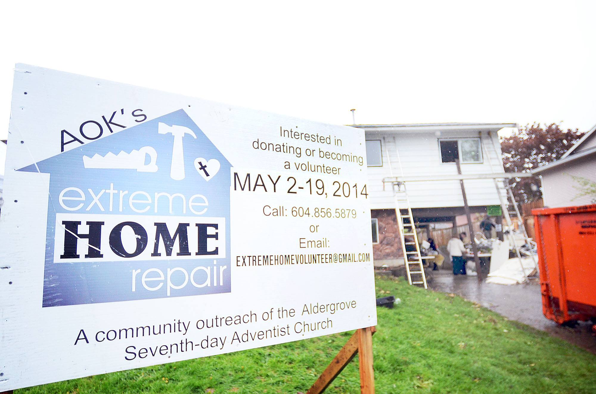 Extreme Home Repair nominations in Langley and Aldergrove being accepted