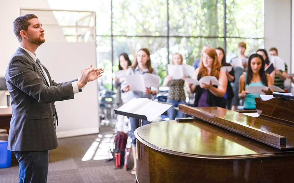 Trinity Western University choral director makes debut in Langley