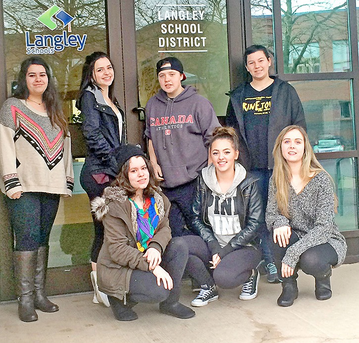 Students from local high schools are on a youth homelessness task force.